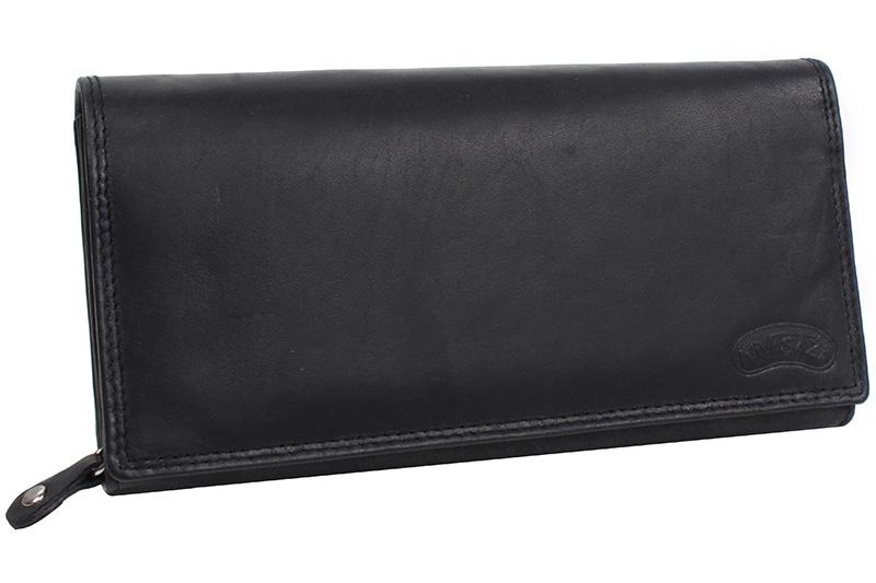 Kožená kasírka Nivasaža N4-MTH-B černá